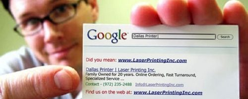 Как найти работу с электронной визиткой?
